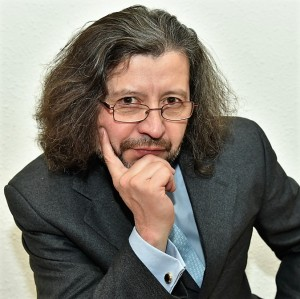 José-Christian Páez (invierno de 2017). Foto: Elizabeth Maldonado.